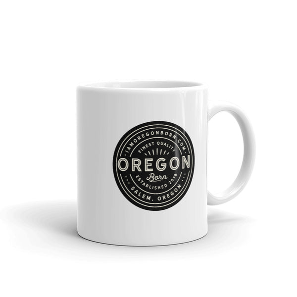 FINEST QUALITY (BLACK) - Mug - Oregon Born