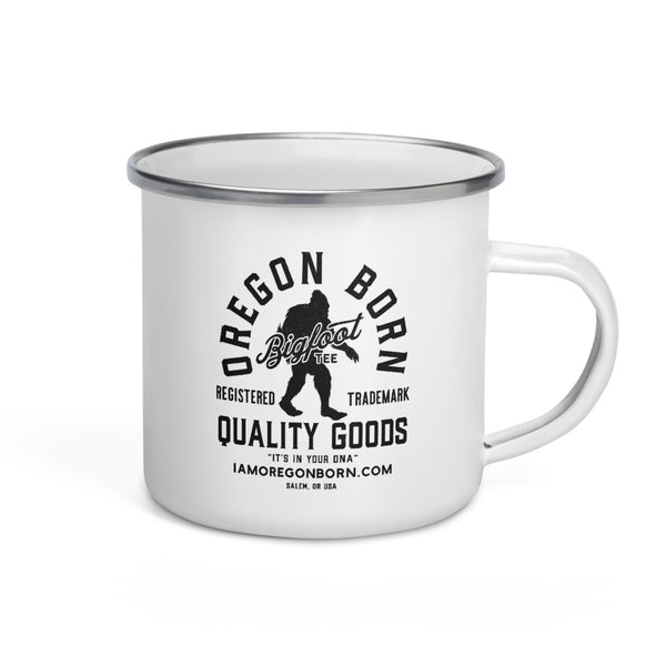 BIGFOOT TEE - Enamel Mug - Oregon Born