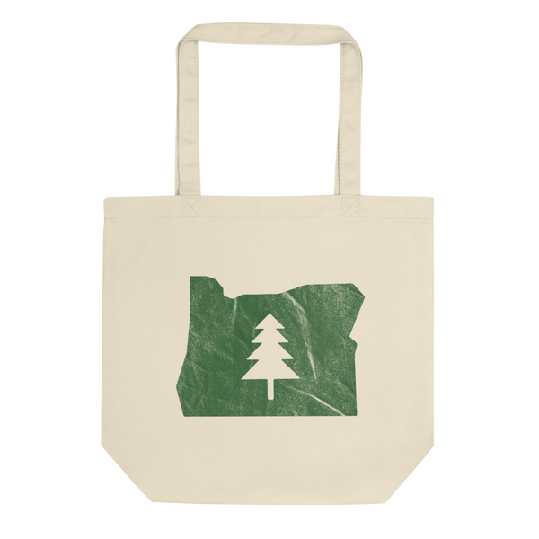 """Oregon Green"" - Eco Tote Bag - Oregon Born"