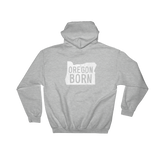 "Oregon Born ""Alis Volat Propriis"" State Motto - Hooded Sweatshirt - Oregon Born"