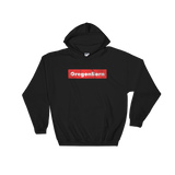 Oregon Born Red Box - Hooded Sweatshirt - Oregon Born