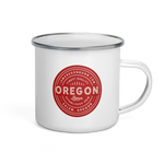 FINEST QUALITY (RED) - Enamel Mug - Oregon Born