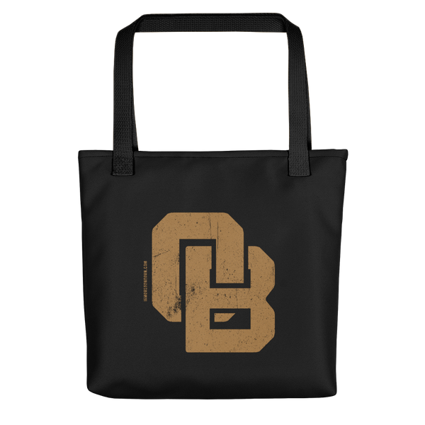 Oregon Born Monogram - GOLD STANDARD - Tote Bag