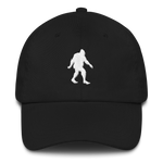 'Oregon Born Bigfoot' in White - Dad Hat - Oregon Born