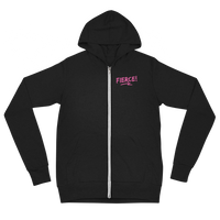 "Oregon Born ""Fierce"" - Lightweight Zip Hoodie - Unisex - Oregon Born"