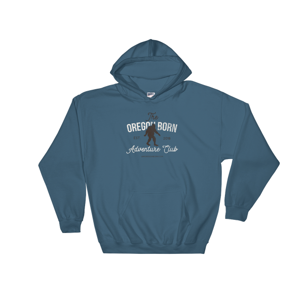 The Oregon Born Adventure Club - Hooded Sweatshirt - Oregon Born