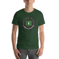 """Ambassador"" - Short-Sleeve Unisex T-Shirt - Oregon Born"