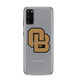 Oregon Born Monogram - GOLD STANDARD - Samsung Case