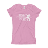 """Believe in Yourself"" - Girl's Tee - Oregon Born"