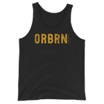 "Oregon Born ""ORBRN"" in Yellow - Unisex  Tank Top - Oregon Born"