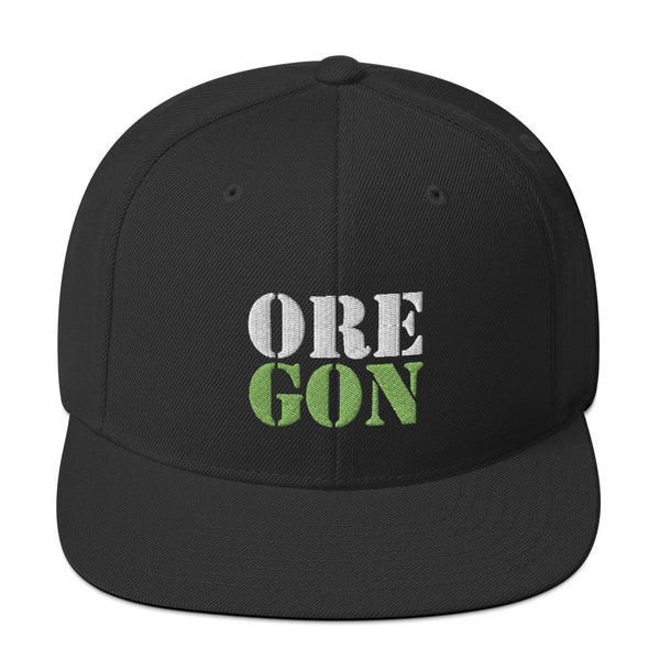 "Oregon Born - ""ORE-GON"" - Snapback Hat"