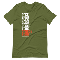 PACK-BAND-CREW Short-Sleeve Unisex T-Shirt