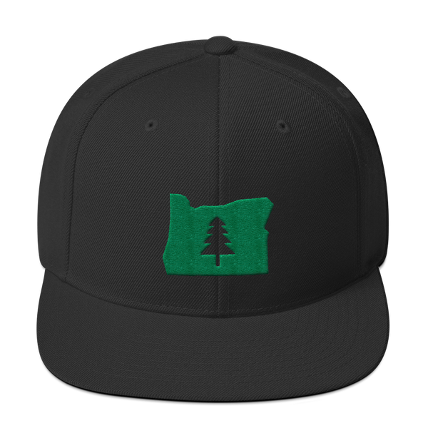 """Explore Oregon"" - Snapback Hat - Oregon Born"