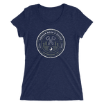 "Oregon ""Born & Raised"" Round - Ladies' Short Sleeve T-Shirt - Oregon Born"