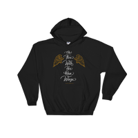 """She Flies With Her Own Wings"" - Hooded Sweatshirt - Oregon Born"