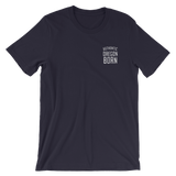 Authentic Oregon Born - Stack - Unisex Tee (Embroidered) - Oregon Born
