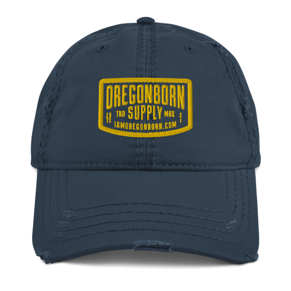 Oregon Born Supply - Distressed Dad Hat