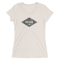 Product of Oregon - Ladies' Short Sleeve Tee - Oregon Born