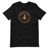 Oregon Born & Bred -GOLD STANDARD - Short-Sleeve Unisex T-Shirt