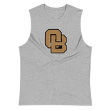 Oregon Born Monogram - GOLD STANDARD - Muscle Shirt
