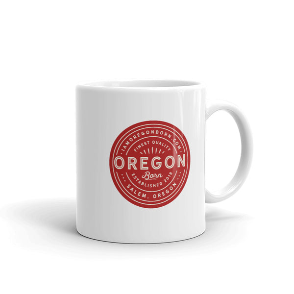 FINEST QUALITY (RED) - Mug - Oregon Born