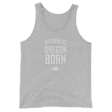 Authentic Oregon Born - Stack - Unisex Tank Top - Oregon Born