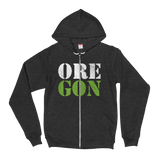 "Oregon Born - ""ORE-GON"" - Full Zip Hoodie - Oregon Born"