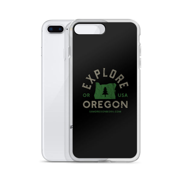 """Explore Oregon"" - iPhone Case - Oregon Born"