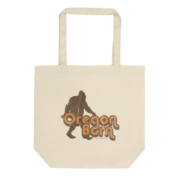Oregon Born - Retro 4 - Eco Tote Bag - Oregon Born
