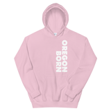 SIMPLY OREGON BORN - SIDE - Unisex Hoodie