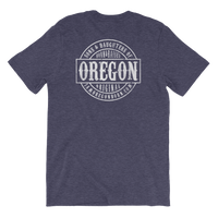 Sons and Daughters of Oregon - Unisex Tee (Back Design) - Oregon Born
