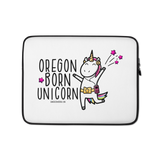 """Oregon Born Unicorn"" - Laptop Sleeve - Oregon Born"
