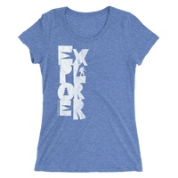 "Oregon Born ""Explorer"" - Ladies' Short Sleeve Tee - Oregon Born"