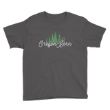 "Oregon Born ""Trees"" - Youth Tee - Oregon Born"