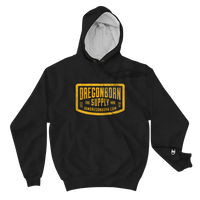 Oregon Born Supply - Champion Hoodie - Oregon Born