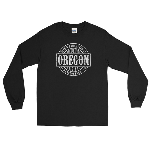 Sons and Daughters of Oregon - Long Sleeve T-Shirt - Oregon Born