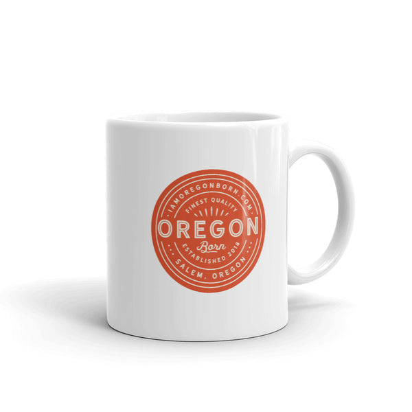 FINEST QUALITY (ORANGE) - Mug - Oregon Born