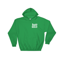 Our Original 'Oregon Born' Logo  - Hooded Sweatshirt - Unisex - Oregon Born