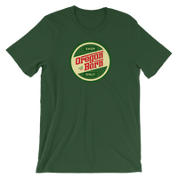 "Oregon Born - ""Shop Only"" Retro - Short-Sleeve Unisex Tee - Oregon Born"