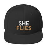 """She Flies"" - Snapback Hat - Oregon Born"