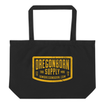 Oregon Born Supply - Large Tote Bag - Oregon Born