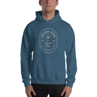 "Oregon Born ""Original Apparel"" - Outline - Hooded Sweatshirt - Oregon Born"