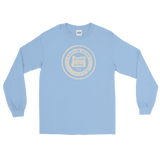 "Oregon ""Born & Bred"" (Off White) - Gildan 2400 Ultra Cotton Long Sleeve T-Shirt - Oregon Born"