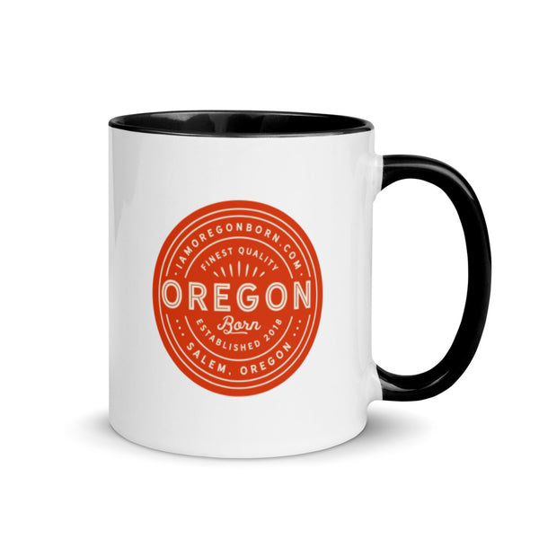 FINEST QUALITY (ORANGE) - Mug with Color Inside