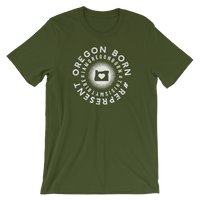Oregon Born - #Represent - Short-Sleeve Unisex Tee - Oregon Born