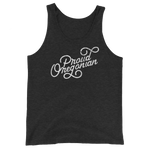 """Proud Oregonian"" - Unisex  Tank Top - Oregon Born"
