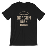 Oregon Born Est. 2018 - Short-Sleeve Unisex Tee (One Color) - Oregon Born