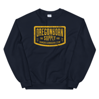 Oregon Born Supply - Unisex Sweatshirt - Oregon Born