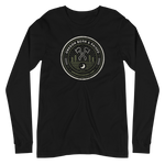 "Oregon ""Born & Raised"" Round - Unisex Long Sleeve Tee - Oregon Born"
