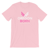 "Oregon Born ""She Flies"" - Short-Sleeve Unisex T-Shirt - Oregon Born"